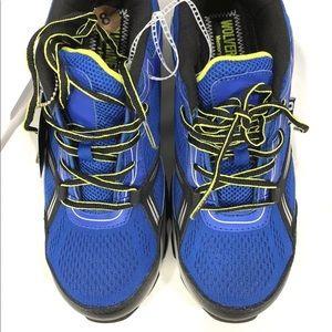 30e49aecece Wolverine Size 8 Blue CarbonMax Safety Toe Shoes Boutique